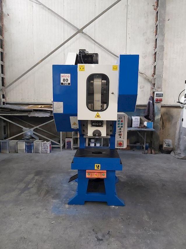 80 Ton Pneumatic Clutch Eccentric Press