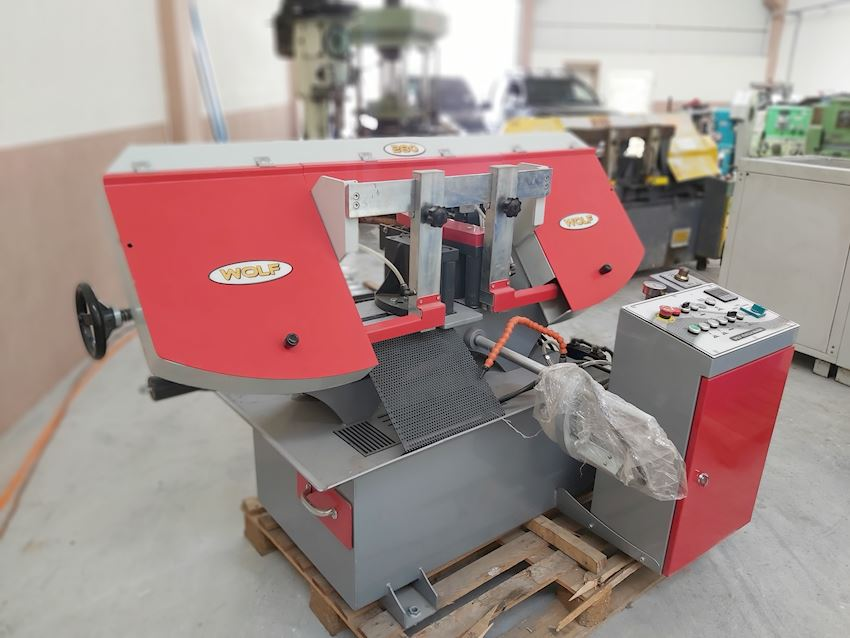 80mm Hydraulic Clamping Fully Automatic Band Saw