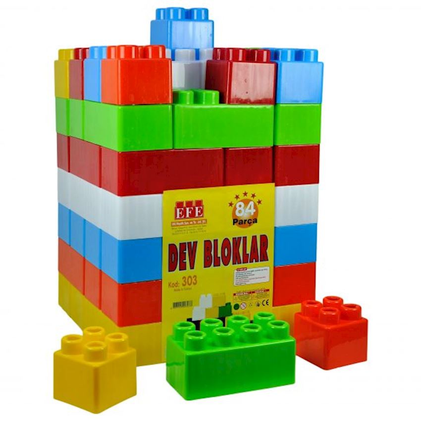 84 Pcs Giant Block Block Toys
