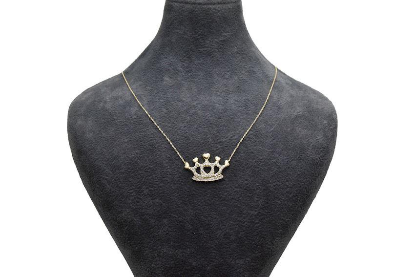 Ahsen 14K Gold Necklace