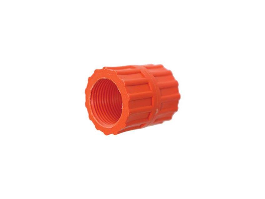 AKPLAS Sprinkler Irrigation System 32 * 32 Male-Male Pipe Coupling Sleeve Irrigation & Hydroponics Eqiupment
