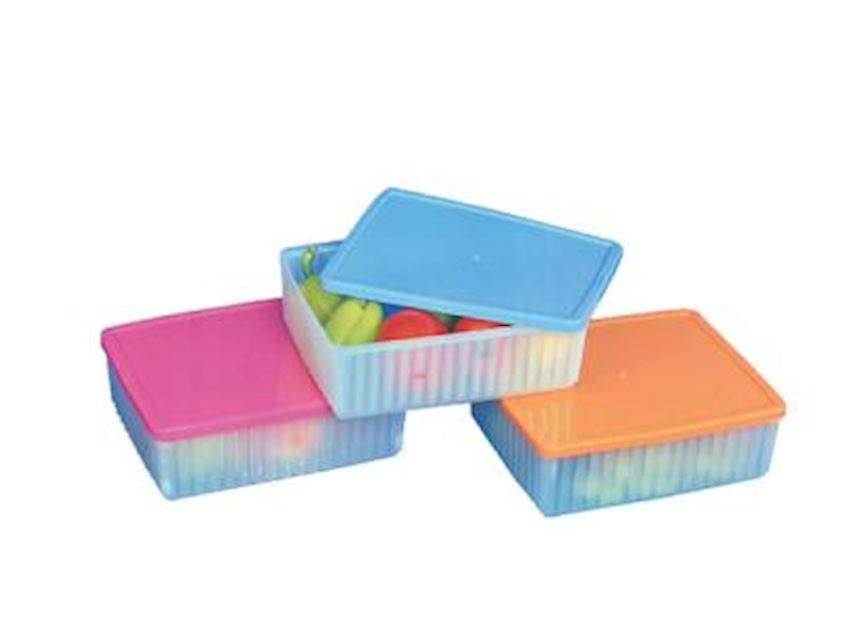 ALKAN Angled Plastic Container With Shrink Home Appliance Plastic