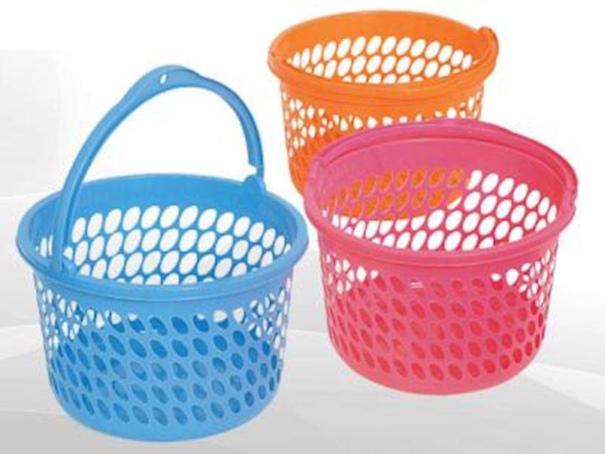 ALKAN Balcony Basket Home Appliance Plastic