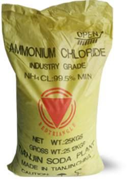 AMMONIUM CHLORIDE Custom Chemical Services / Product Info
