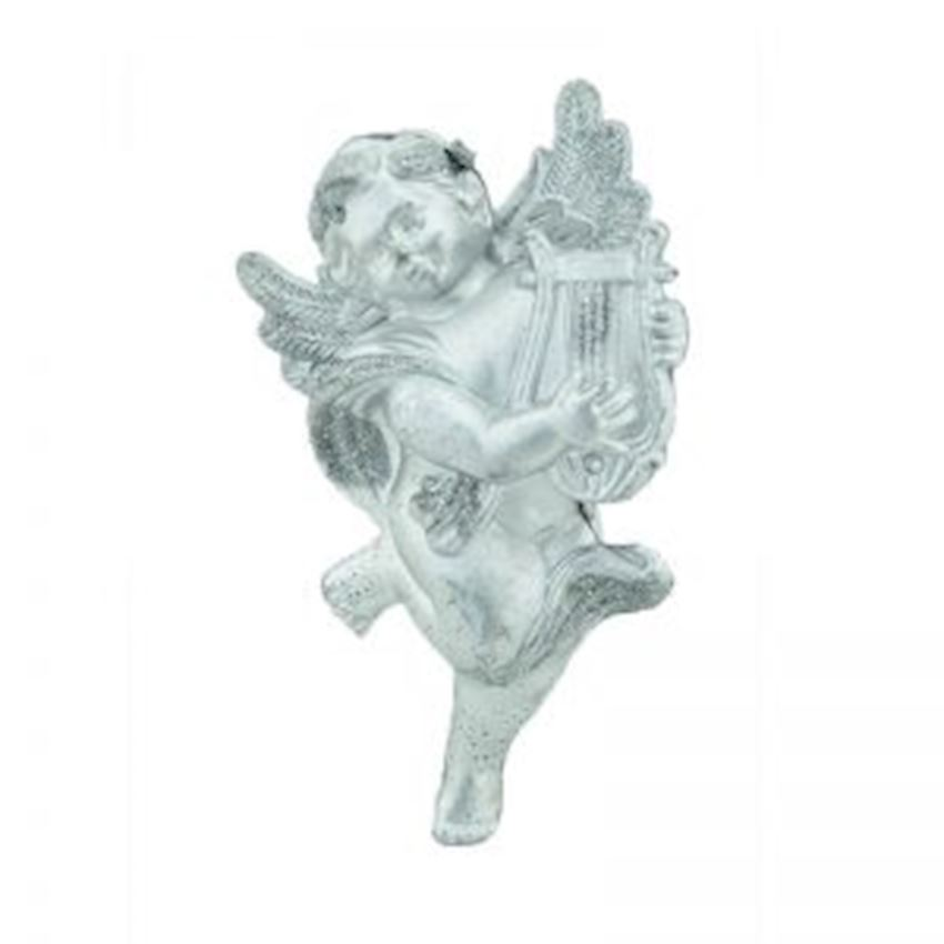 Angel Christmas Ornament Silver 20cm Christmas Decoration Supplies
