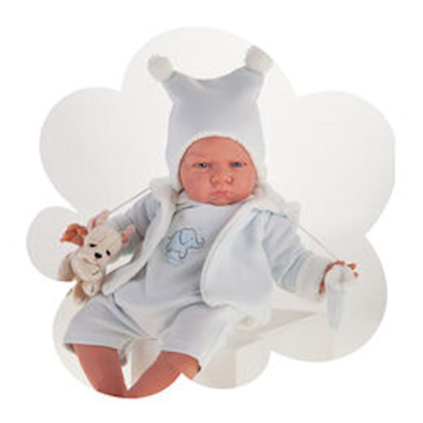 Antonio Juan My First Reborn - Berta Blue Beanie Other Baby Toys