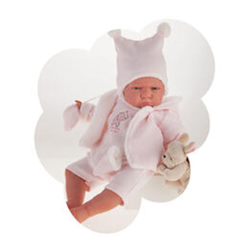 Antonio Juan My First Reborn - Berta Gorro Pico Rosa Other Baby Toys
