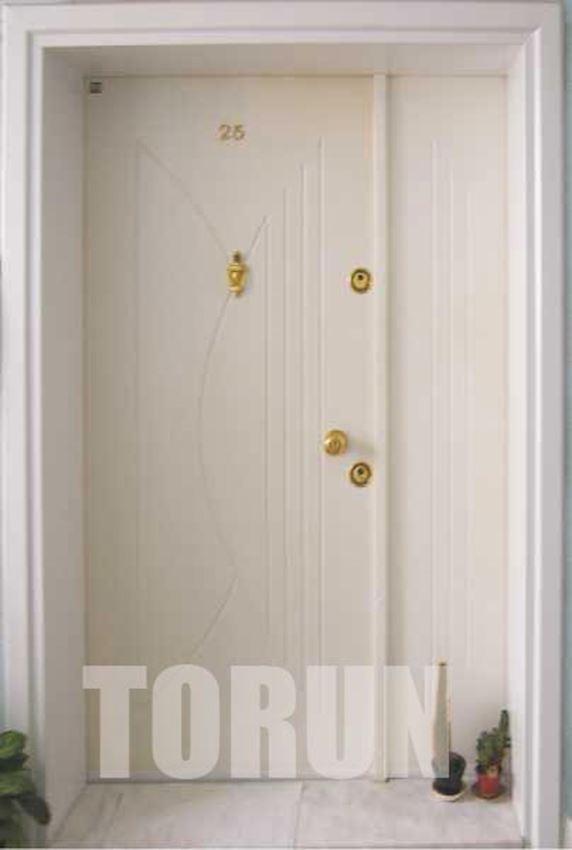 APARTMENT MAIN ENTRANCE DOOR WHITE EXTERIOR DOOR