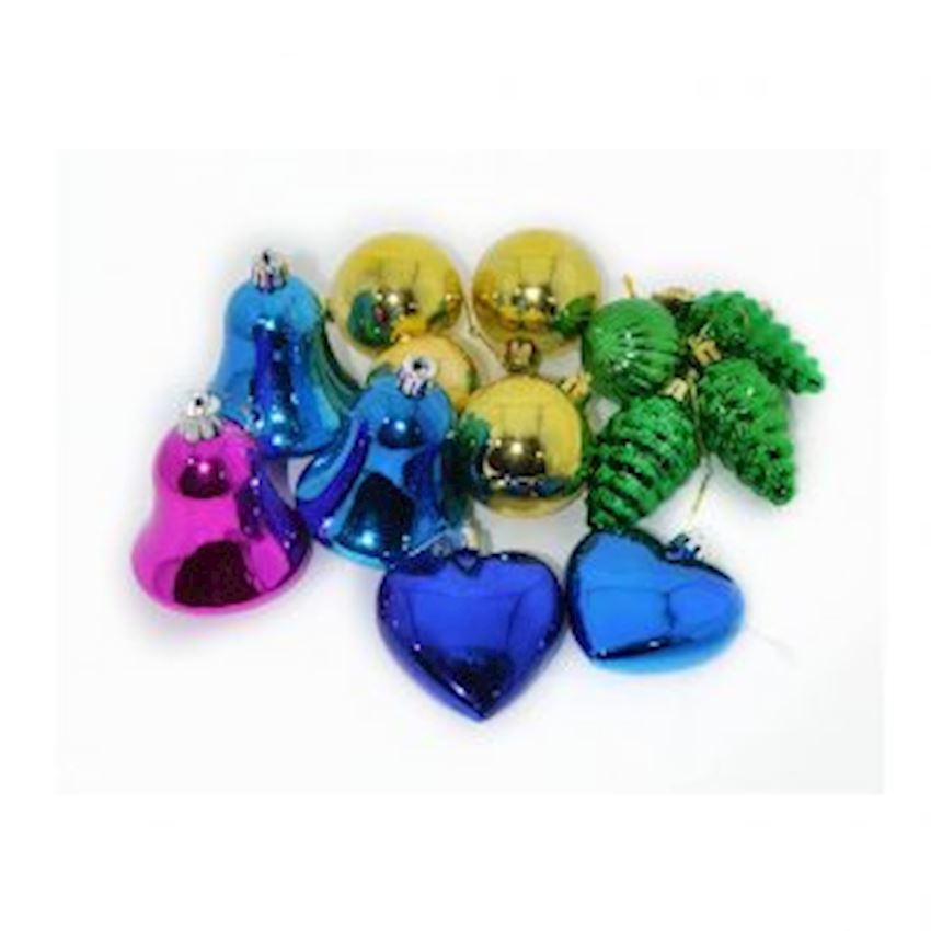 Assorted Assorted Christmas Tree Decorations Christmas Decoration Supplies