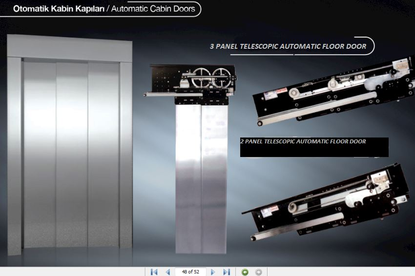 AUTOMATIC CABIN DOORS