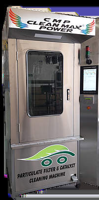 Automatic Dpf Cleaning Machine With Cabin Group  