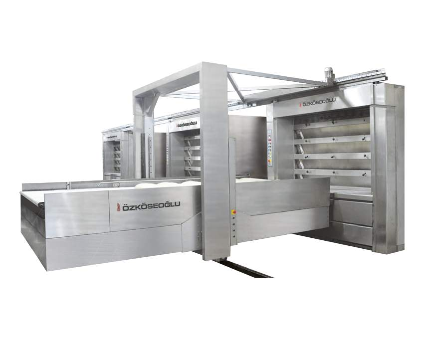 Automatic Loading Systems – Steam Pipe Ovens