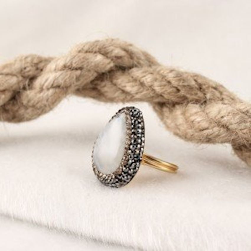 Aytaşlı Handcrafted Women's Silver Ring