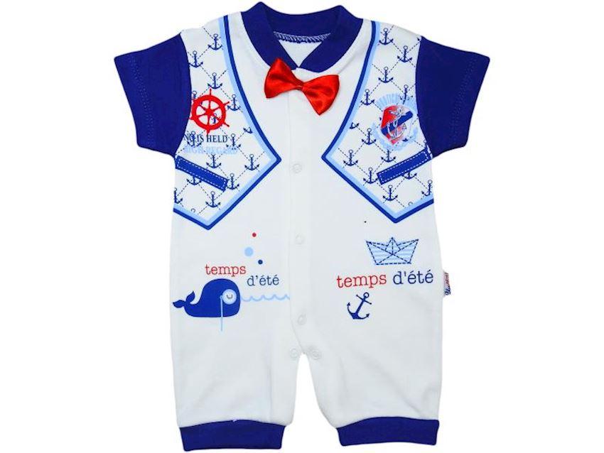 Baby Boy Overalls Bow Tie Summer