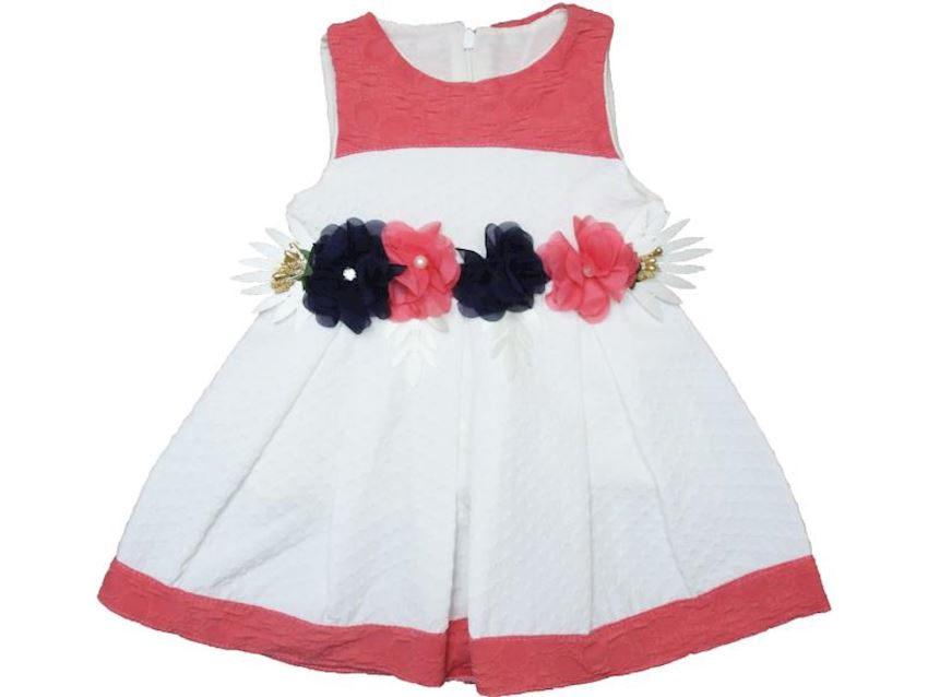 Baby Girl Dress With Flowers
