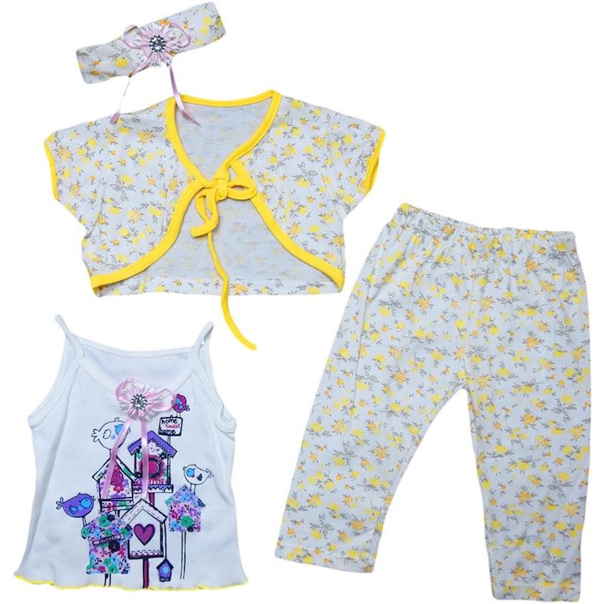Baby Girl Foursome Suit