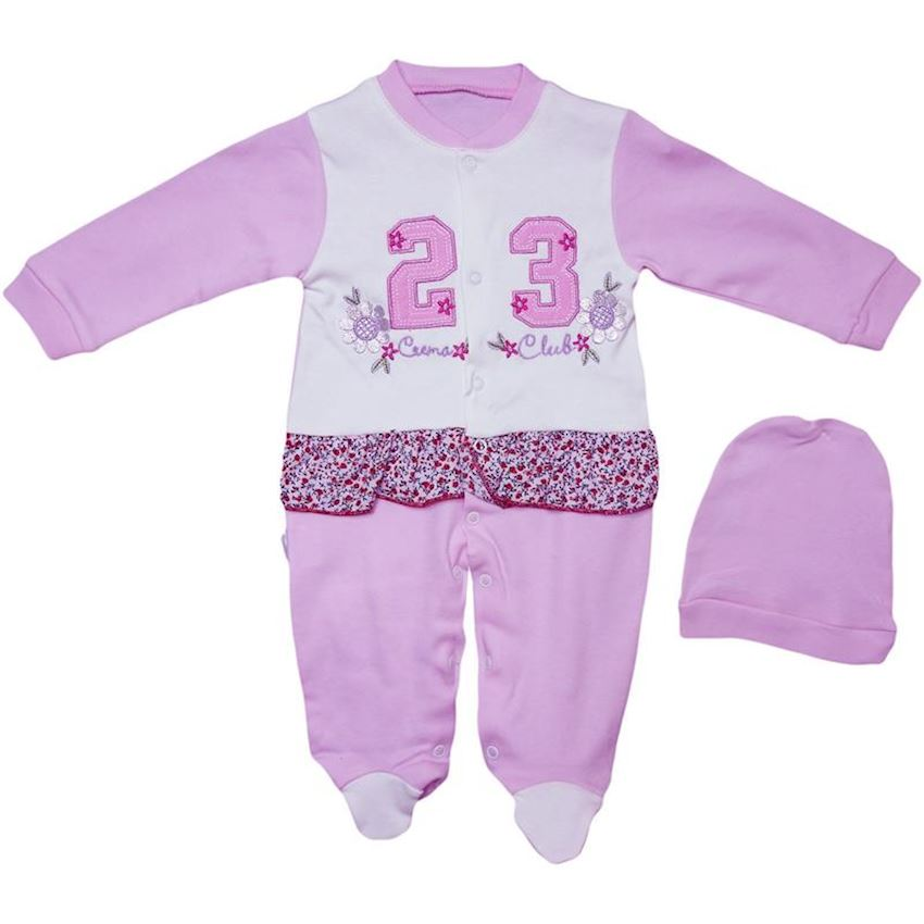 Baby Rompers With Capped