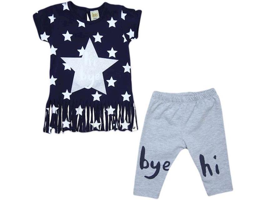 Baby Suit Hi Bye Printing