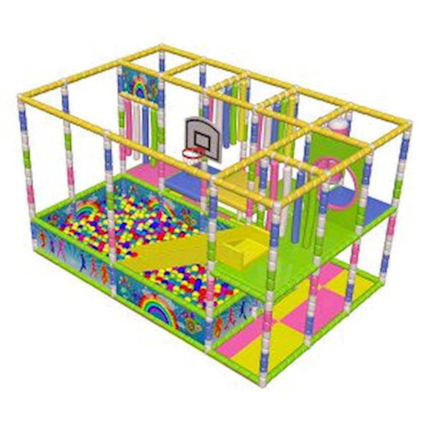 Ball Pool Playground 3,5 × 5,2 × 2,4 Amusement Park