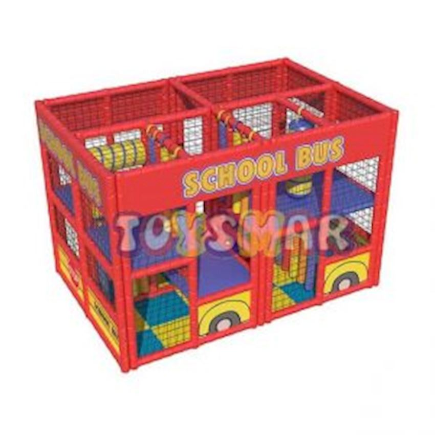 Ball Pool Playground School Bus 4x2x2 Amusement Park