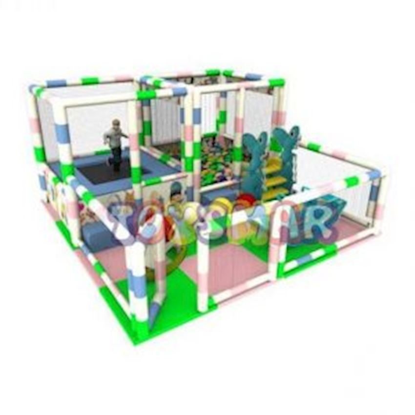 Ball Pool Playground Trampoline 4x4x2 Amusement Park