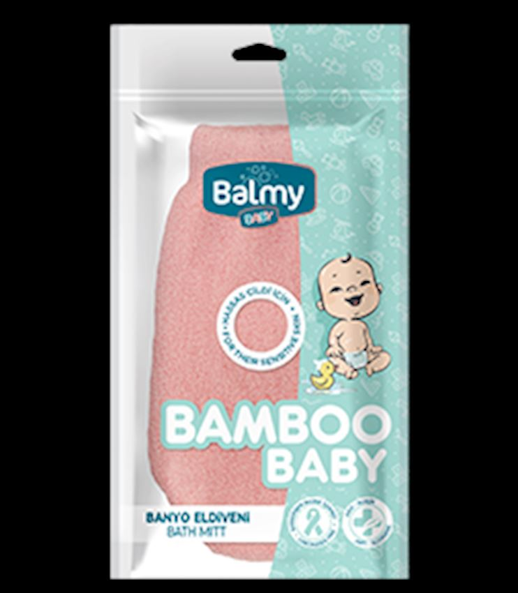 Bamboo Baby Bath Gloves Pink Baby Care