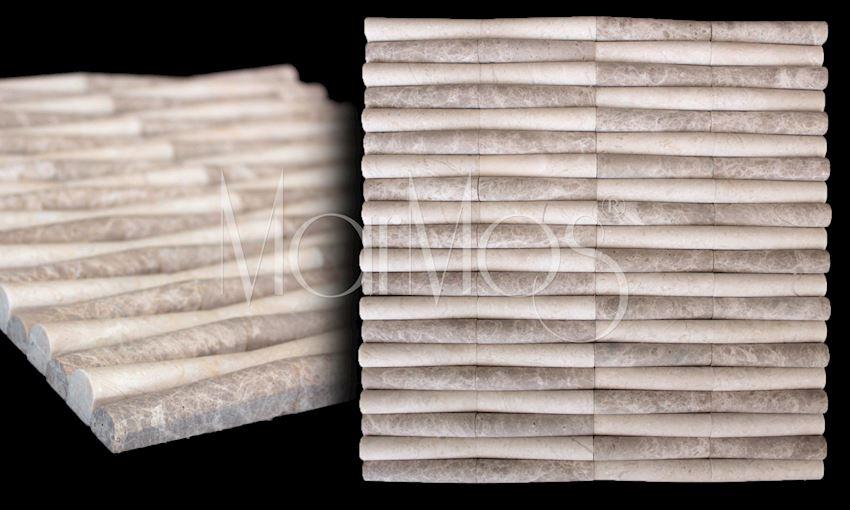 Bamboo Beige Emprador Mix Marble Stone