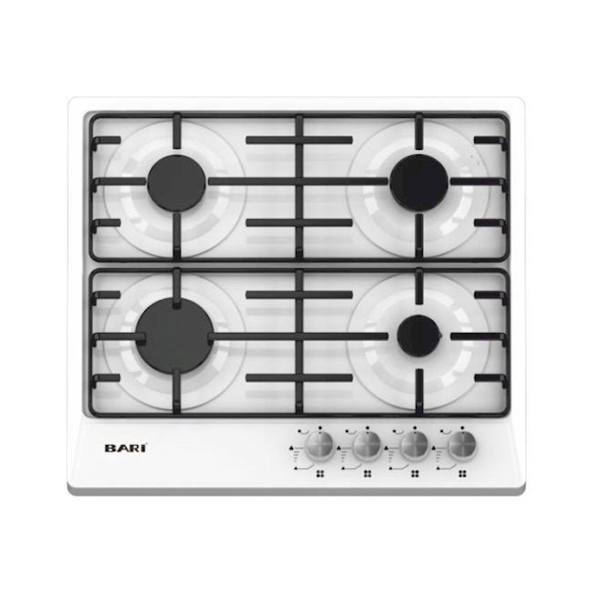 Bari Built-in White Safety Enamel Cooker BR-2440ECE