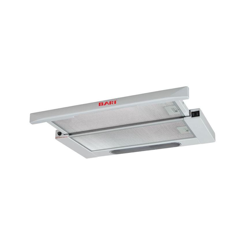 Bari Double Filter Sliding White Kitchen Aspirator BR-5403