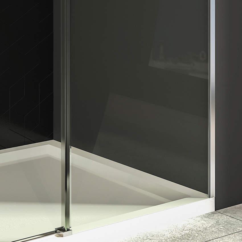 Bathtub Enclosures ALTES 1 Fixed 1 Slide