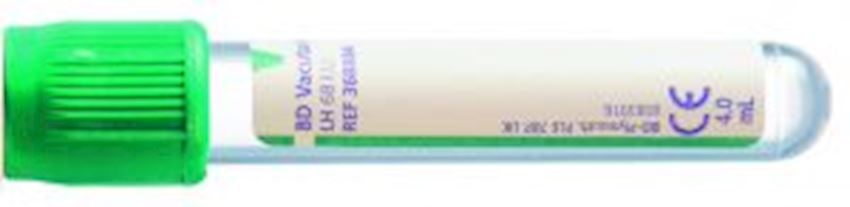 BD Vacutainer® Plasma Tubes (Heparin) Infusion, Nursing and Protective Instruments