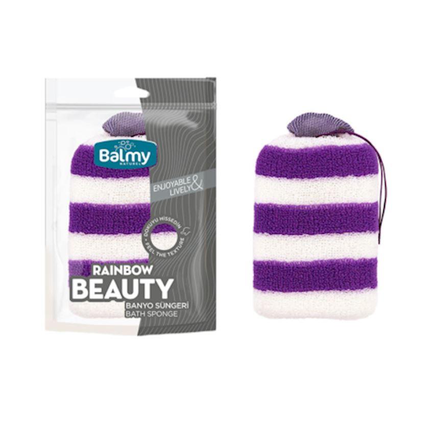 Beauty Sponge Bathroom Sponge Purple White Bath Brushes, Sponges & Scrubbers