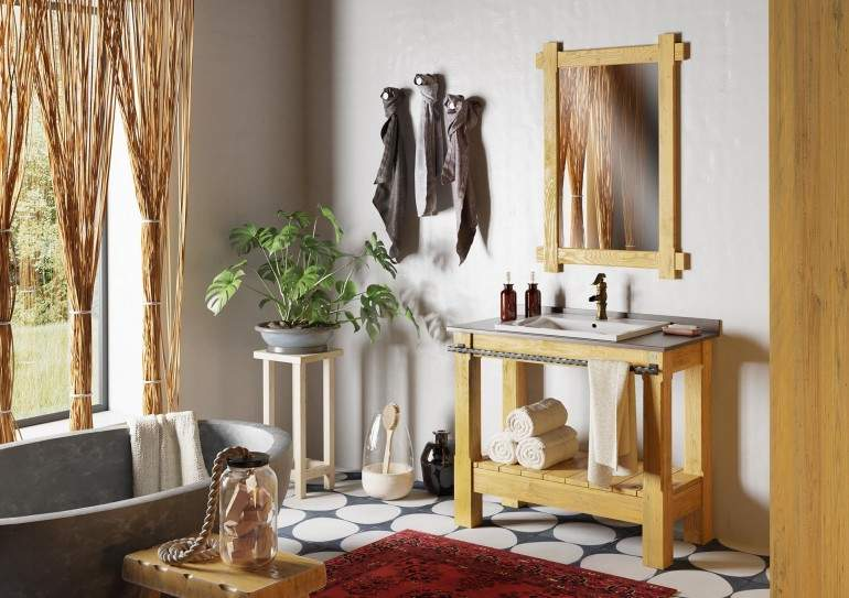 BELINZA BLNZAK007 Bathroom Furniture