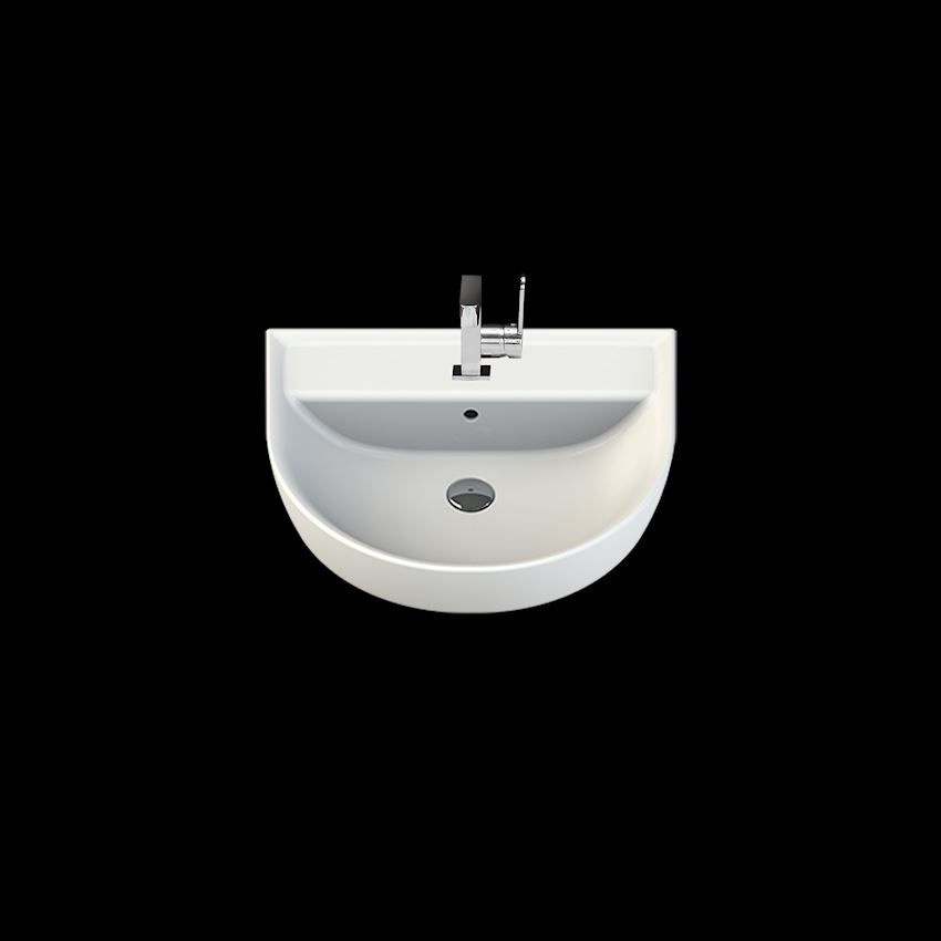 Bella Washbasin, 50×60 cm Bathroom Sinks