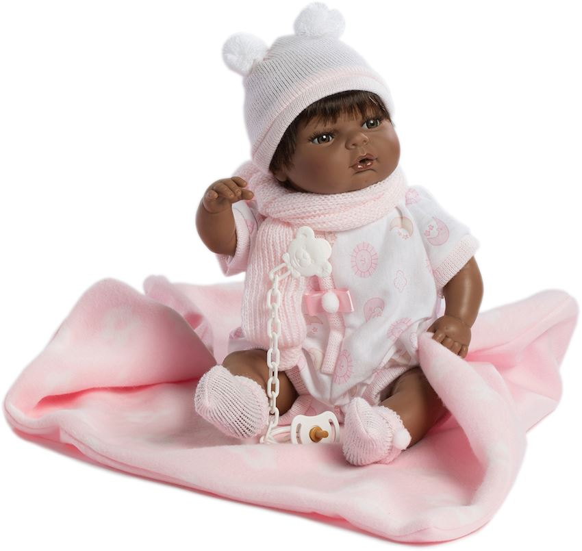 Berbesa Raul Lloron Negrito Traje Rose Y Mantita Caja 42 Cm Other Baby Toys