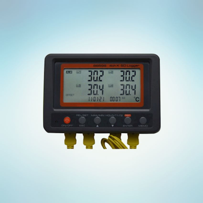 Beyanlab 4 channel K thermometer SD card data logger