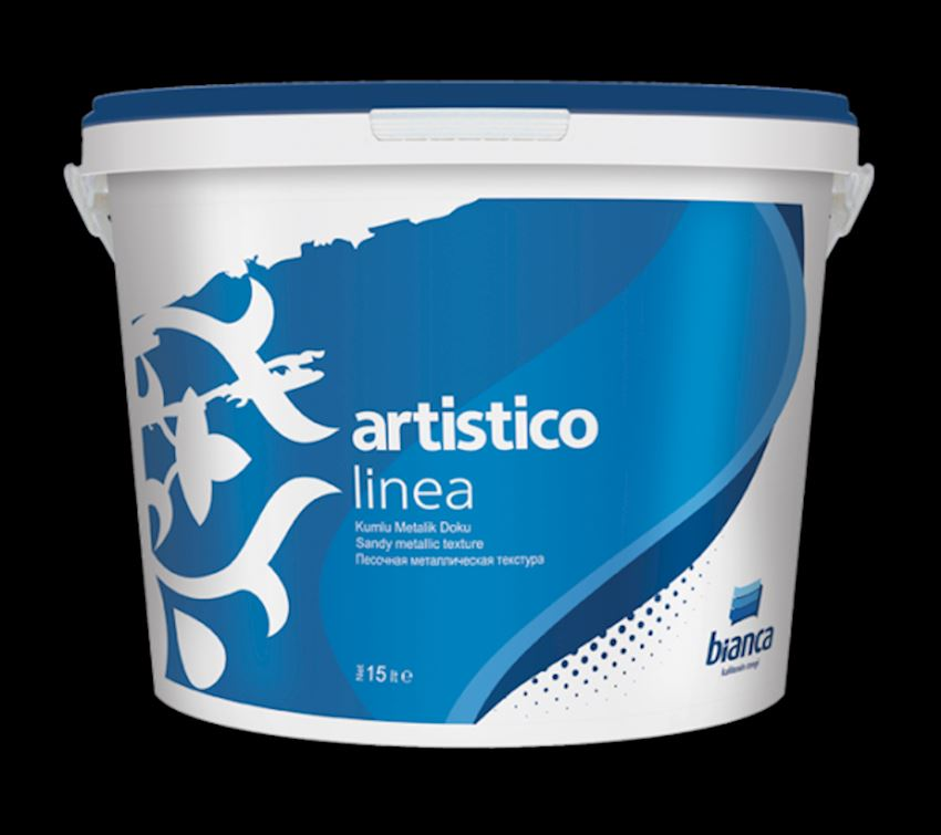 BIANCA Artistico - Linea (Sandy Metallic Texture) Paints & Coatings