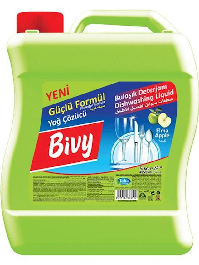 Bivy Dish Detergent 5000ml-Apple Cleaning Detergent