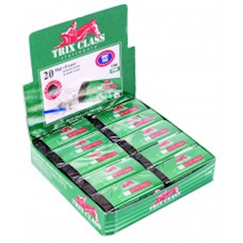 Black Trix Class 20 Eraser Eraser