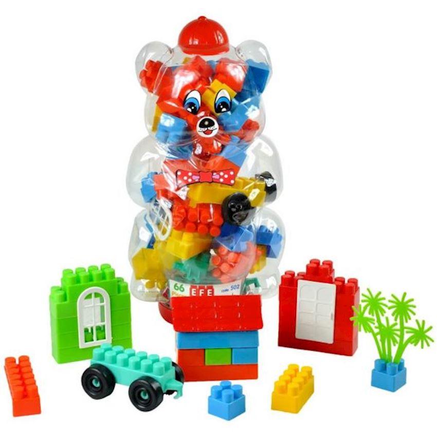 Blocks in Big Bear Figured Block Toys