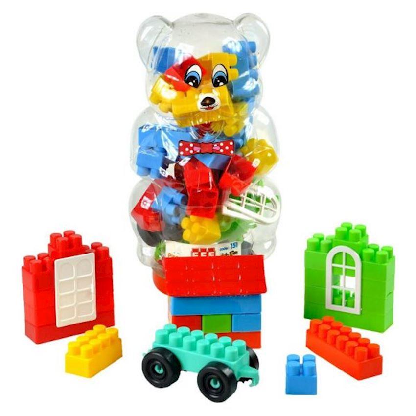 Blocks in Small Bear Figured Block Toys