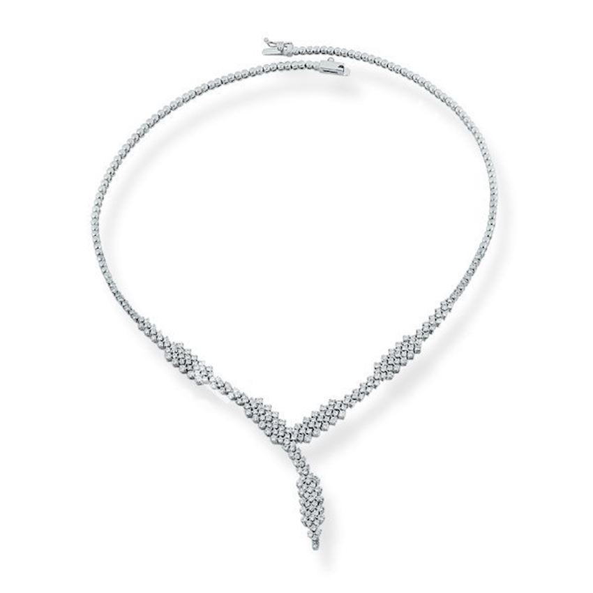 Bridal Jewelry Diamond Necklace Sunny Design