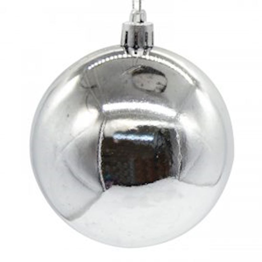 Bright Cici Top Ceiling Ornament Silver 35cm Christmas Decoration Supplies
