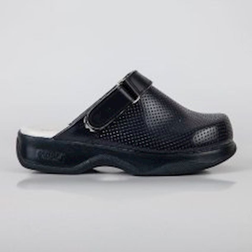BYGUR the weft Navy Women's Hospital Perforated Clog