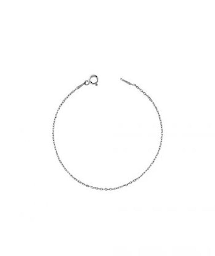 Cable Link Chain Bracelet Oxidized
