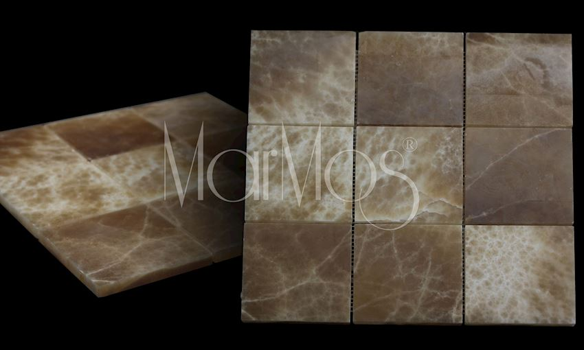 Caramel Onix Marble Stone