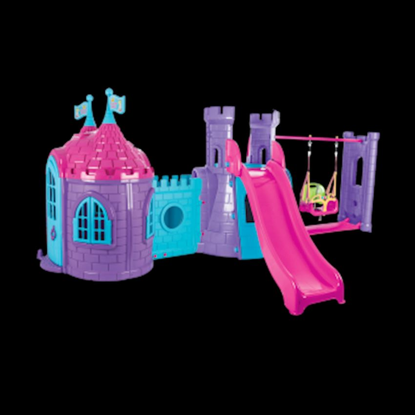 Castle Castle Slide And Swing Set Other Outdoor Toys & Structures