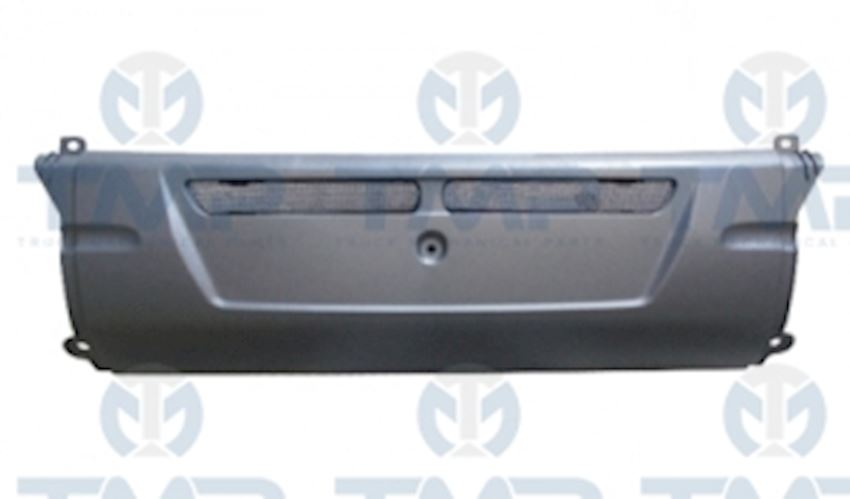 CENTRAL BUMPER WITH METAL GRILLES