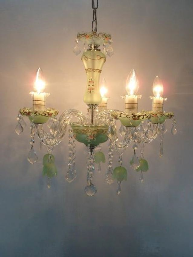 Chandelier Models  1393-5 GREEN