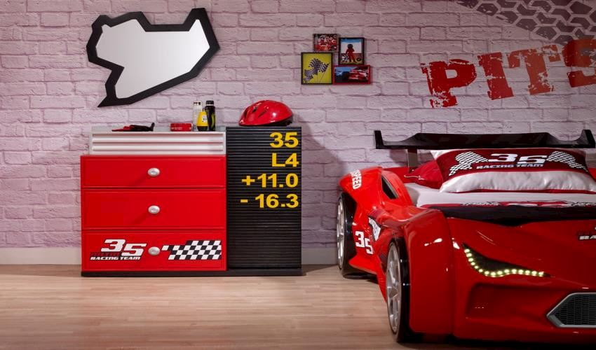 Children's Beds Mvn 2 Car Bed